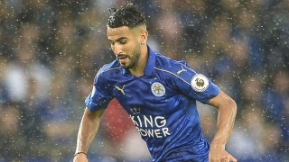 ​Mahrez dedicates Leicester win to sacked coach Shakespeare