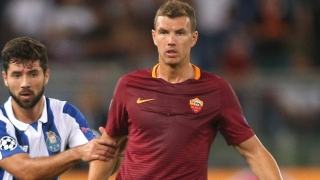 Roma striker Edin Dzeko: Don't talk to me about Juventus!
