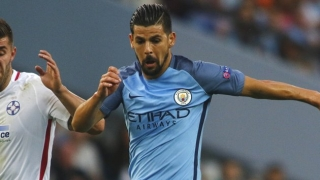 Man City insisting on straight Nolito sale