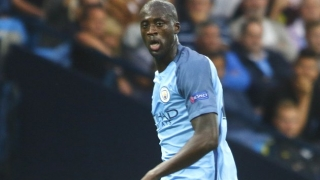 Man  City veteran Yaya Toure: We're lucky to count on Kun