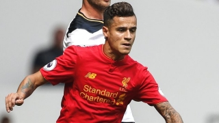Liverpool star Coutinho honoured to win Samba Gold Award