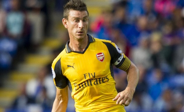 Man City, Marseille in contact with Arsenal defender Laurent Koscielny