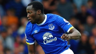 Everton striker Romelu Lukaku scoffs at 'Chelsea BS'