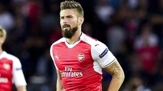 Giroud coy on Arsenal future; discusses Lacazette partnership