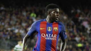 Samuel Umtiti boasts 100 per cent Barcelona record