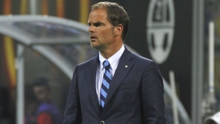 Frank de Boer upset after Inter Milan Euro defeat