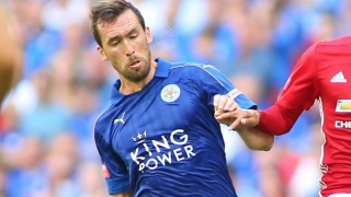 NFL can wait! Christian Fuchs pens new Leicester deal