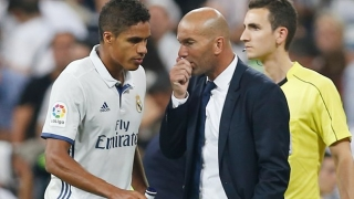 Real Madrid coach Zidane: Varane ready for Atletico Madrid
