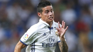 Man Utd already assure Real Madrid attacker James of shirt number...