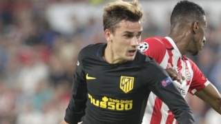 Gameiro, Griezmann fire Atletico Madrid to PSV win