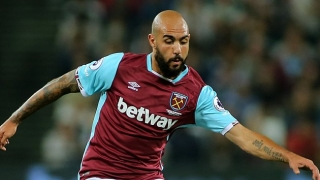 West Ham striker Simone Zaza: Honour and pleasure to play under Mr Conte