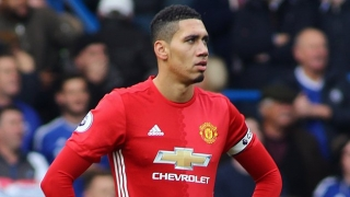 West Brom move to beat Leicester, Stoke for Man Utd defender Chris Smalling