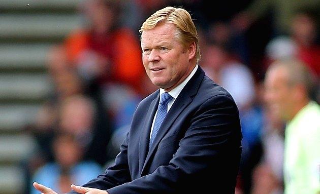 SACKED: Everton confirm Koeman 'has left club'