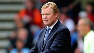 ​Koeman 'really proud' of Everton draw with Man City
