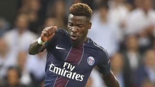 PSG defender Serge Aurier calm over Barcelona rumours