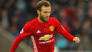 Man Utd midfielder Mata back in England for Wembley