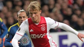 Man Utd battling Man City, BVB for Ajax striker Kasper Dolberg