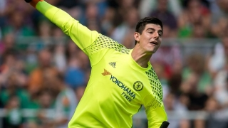 Courtois intent on putting space between Chelsea and Liverpool