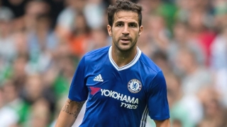 Chelsea boss Conte delighted counting on Cesc and Willian