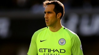 Man City keeper Bravo season over