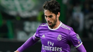 Isco celebrates Real Madrid game No200