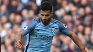 Man City boss Guardiola denies any rift with Aguero