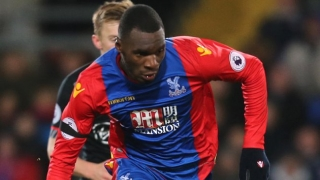 Crystal Palace striker Benteke delighted to score in Leicester rout