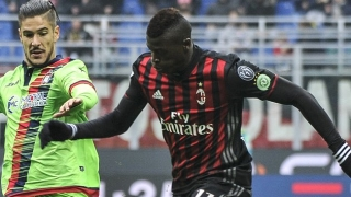 AC Milan striker Niang snaps back at Montella