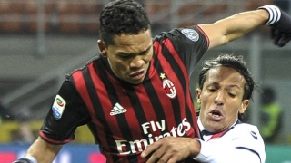 Carlos Bacca: China? I'm just thinking of AC Milan