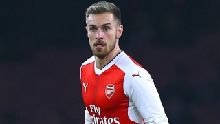 Arsenal Wembley boost as Ramsey in training today
