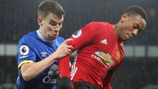 ​Coleman makes long awaited return to Everton training