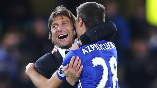 Antonio Conte: My favourite colour is blue. I've followed Chelsea a lot!