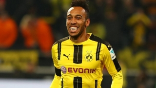 Dad touches down in London as Aubameyang Arsenal talks intensify