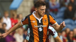Stoke join Liverpool interest for Hull fullback Andrew Robertson