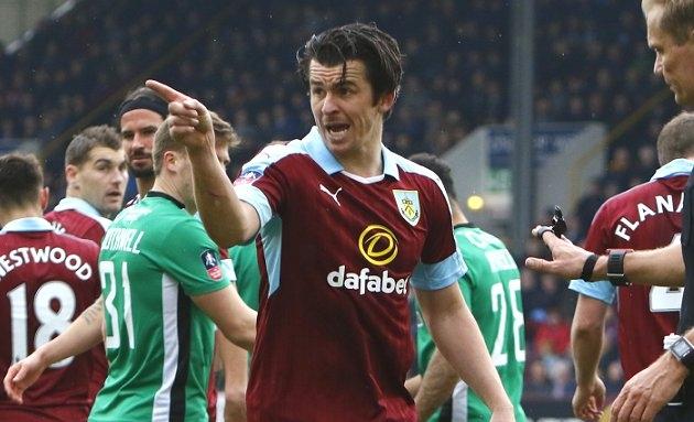 Burnley veteran Joey Barton responds immediately to stunning ban