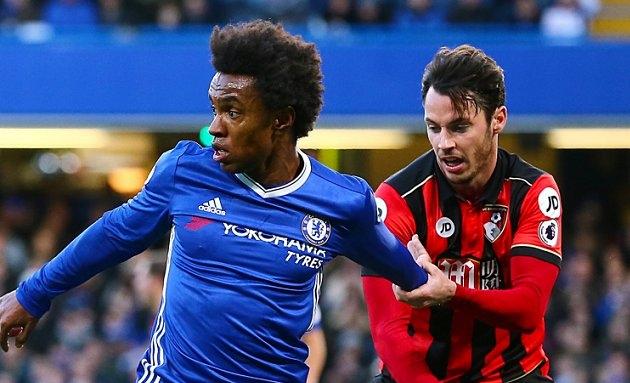 Chelsea boss Conte ponders selling Man Utd target Willian