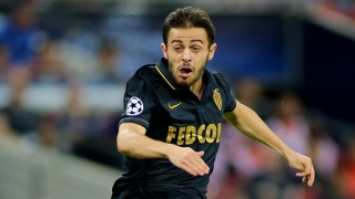 Monaco star Bernardo Silva in advanced Man Utd talks
