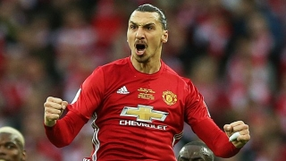 He's back! Ibrahimovic training with Man Utd squad 'for past 7 days'
