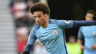 Man City winger Sane constantly on the improve says Pep