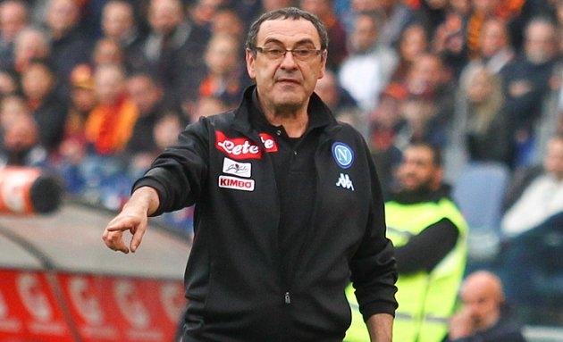 Napoli cut loose Sarri as Chelsea watch on