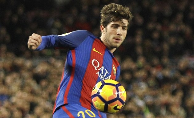 Chelsea to meet buyout clause of Barcelona wing-back Sergi Roberto