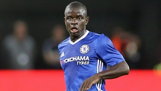 Stoke boss Hughes: Chelsea midfielder Kante on way to being best in world