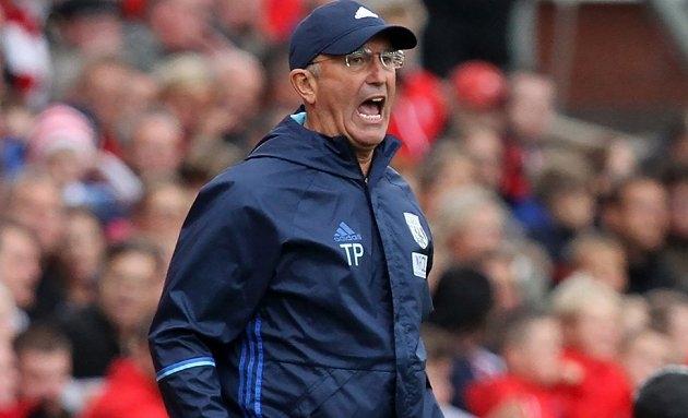 SACKED: West Brom announce Tony Pulis dismissal