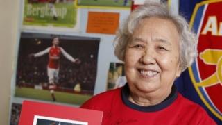 Arsenal lover Granny Liu biggest Premier League fan in China