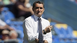 Barcelona coach Valverde splits squad into 4 sections before January market