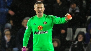 Sunderland keeper Jordan Pickford a target for RB Leipzig
