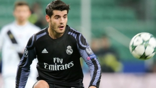​Real Madrid striker Morata hints at Man Utd move on social media