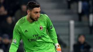AC Milan goalkeeper Donnarumma happy with form