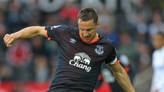 Everton defender Jagielka apologises to fans for Atalanta loss