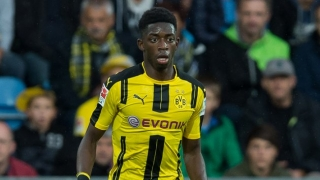 Barcelona concern as Man Utd, Man City target Dembele in Manchester